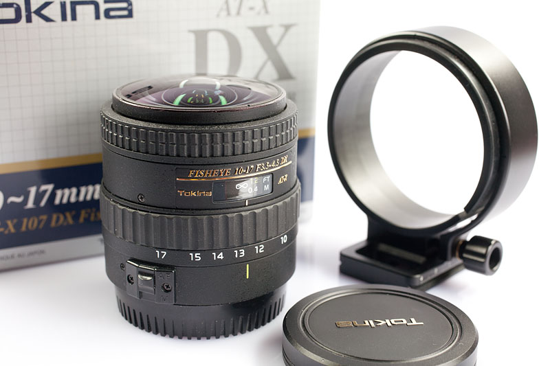 Tokina Fisheye 10-17/F 3.5-4.5 DX